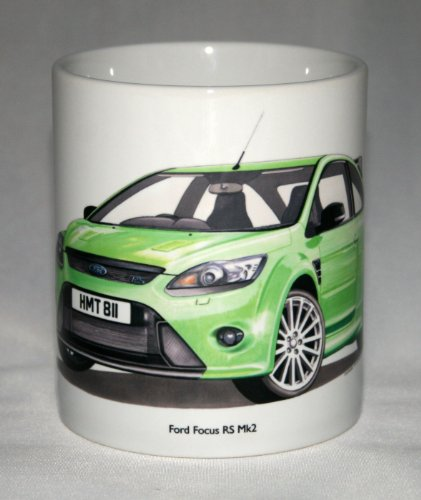 mug-auto-depoca-ford-focus-rs-mk2-illustrazione