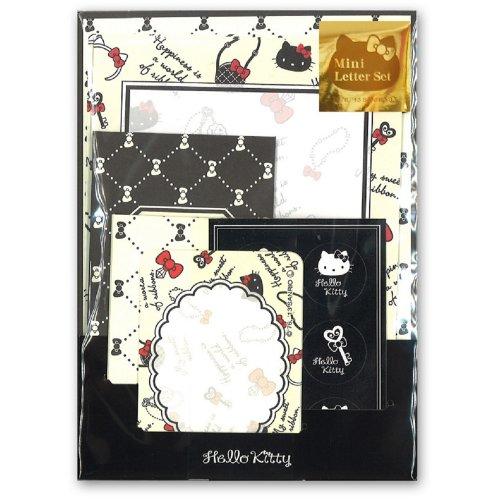 カクケイ Hello Kitty mini select letter accessories envelope two mini envelope A2 sheet mini envelopes B2 cards stationery 10 cards two cards sealed 6 piece FR4202