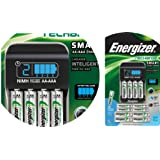 Energizer Rechargeable Batteries and Charger - 8 rechargeble AA batteries and 4 rechargeble AAA batteries