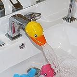 Cartoon Faucet Extender. Make Your Kids Love Hand Wishing (Yellow Duck)