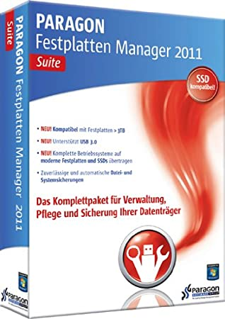 Paragon Festplatten Manager 2011 Suite