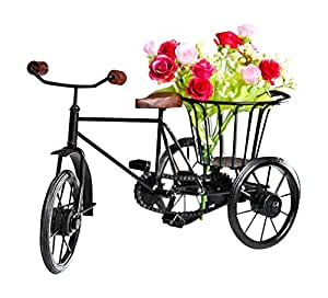 Buy Pindia Wooden Amp Wrought Iron Small Miniature Tricycle