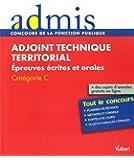 Concours Adjoint technique territorial - Epreuves écrites et orales - Catégorie C