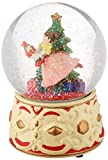 Kurt Adler Clara Musical Water Globe with Nutcracker , 5.5-Inch