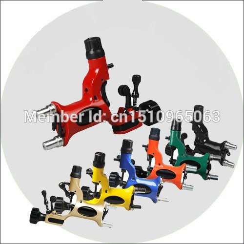 Rotary Tattoo Machine Gun 7 Colors Available for Tattoo Equipment Kits Tattoo Kits Supply