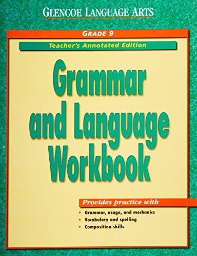 Glencoe language arts grammar and language workbook grade 9 glencoe language arts grammar and language workbook grade 9 teachers annotated edition fandeluxe Images