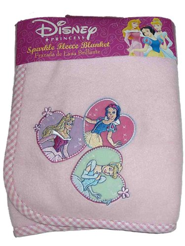 Disney Princess Sparkle Fleece Blanket