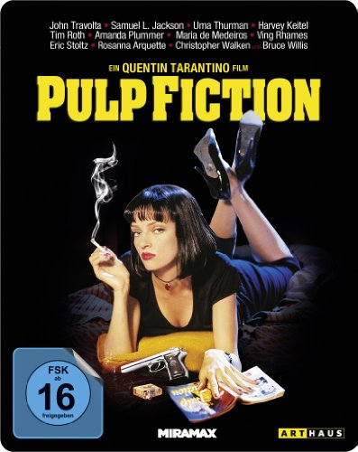 Pulp Fiction - Steelbook [Blu-ray]