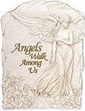 AngelStar 9-Inch Angel Plaque, Angels Walk Among Us