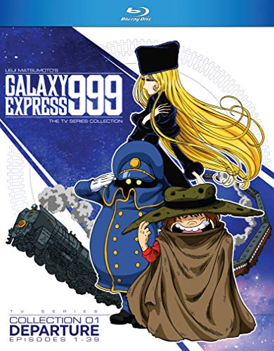 Blu-ray : Galaxy Express 999: Tv Series Collection 1 (3 Discos)