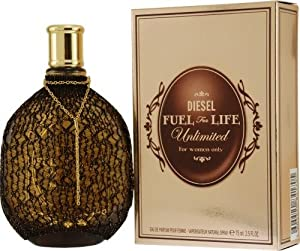 Diesel Fuel For Life Unlimited by Diesel for Women. Eau De Parfum Spray 2.5-Ounces