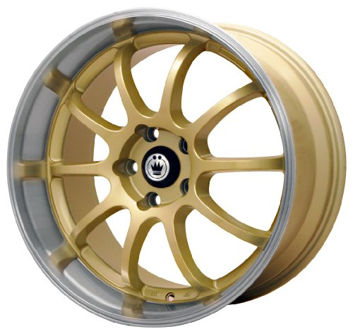 518vNzi4m4L Konig Lightning Gold Wheel with Machined Lip (15x7/4x100mm)