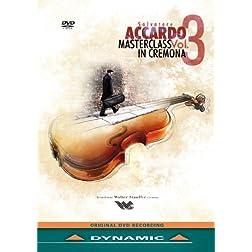 Salvatore Accardo Masterclass, Vol. 4