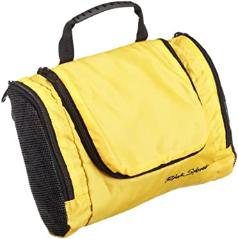 "Rick Steves Travelin Toiletries Bag - 9"" - YELLOW"