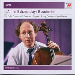Anner Bylsma plays Boccherini by Anner Bylsma Luigi Boccherini