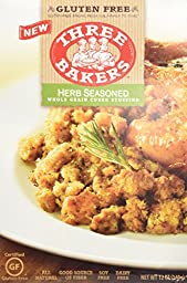 Three Bakers Stuffing Cubed Gf Hrb Whl 12 Oz [Pack of 5]