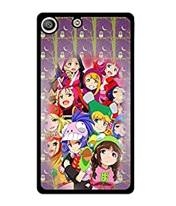 Fuson 2D Printed Girly Designer back case cover for Sony Xperia M5 - D4602