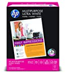 HP Multipurpose Ultra White, 20lb,  8...