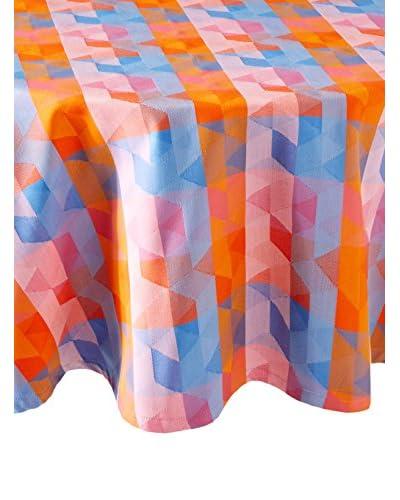 Garnier-Thiebaut Mille Cubes Tablecloth, Dusk
