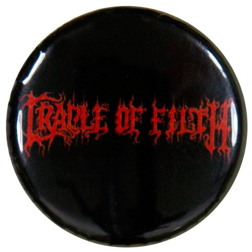 Cradle Of Filth - Unisex-Adult Cradle Of Filth - Logo Button