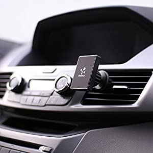 Koomus Magnetos Universal Air Vent Magnetic Cradle-less Smartphone Car Mount Holder for all iPhones and Android Devices