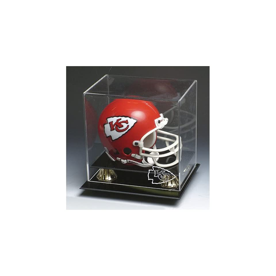 Kansas City Chiefs NFL Full Size Football Helmet Display Case