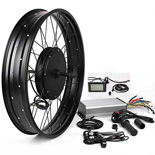 3000W-Hub-Motor-Electric-Bike-Conversion-Kit-LCD-Disc-Brake-Rear-Wheel-Theebikemotor
