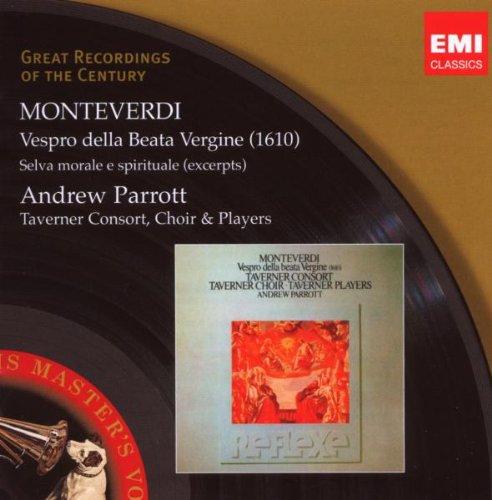 1610 Vespers (Nigel Rogers - E.Kirkby) - MONTEVERDI - CD
