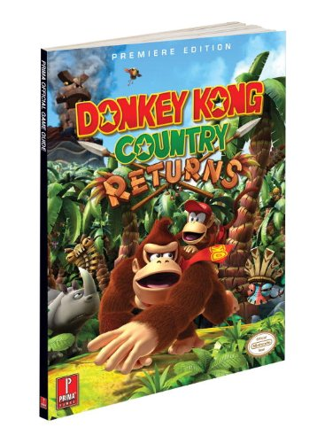 Donkey Kong Country Returns: Prima Official Game Guide (Prima Official Game Guides)