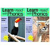 'Learn To Read With Phonics' Books 3 and 4 (Fun, colour in phonics reading scheme)by Sally Jones