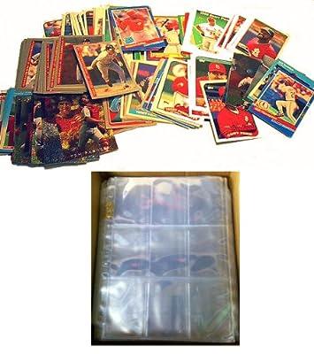 100 ST LOUIS CARDINALS Baseball Cards + 10 Binder Pages