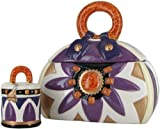 David's Cookies Tortoise Handbag w/ Treat-Size Jar
