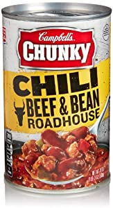 Chunky Roadhouse Beef and Bean Chili, 19 Oz
