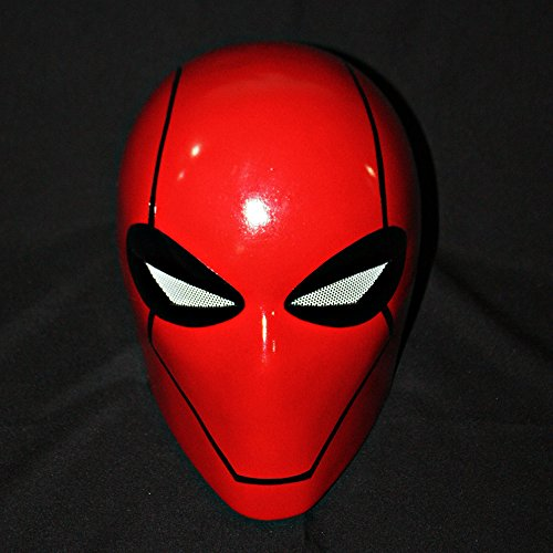 Batman Arkham Under the Red Hood Helmet Halloween Costume Mask MA189