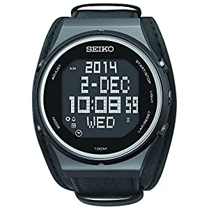 Seiko Men's STP017 Matrix-Digital Digital Display Japanese Quartz Black Watch