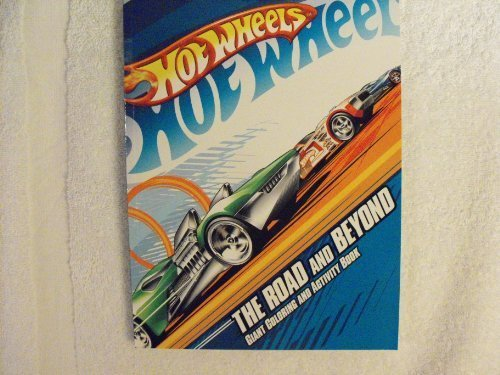 Hot Wheels Coloring and Activity Book - The Road and Beyond - 1