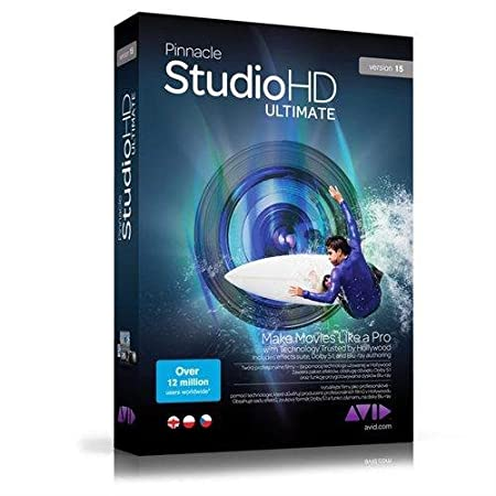 Pinnacle Studio Ultimate v 15 [Old Version]