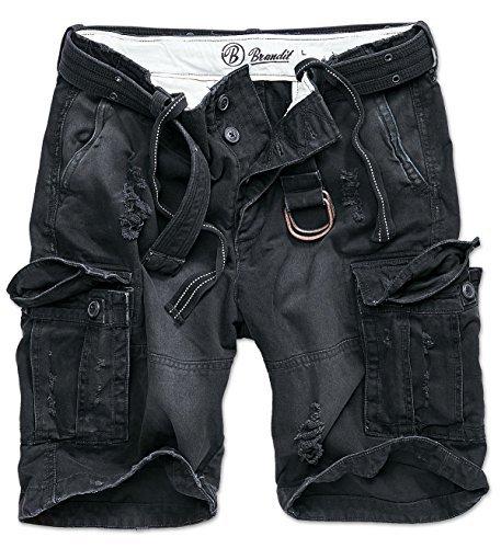 Brandit Shell Valley Pantaloncini Vintage nero S