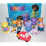 Dreamworks Home Mini Figure Toy Play Set of 13 with Tip, Oh, Kyle, Captain Smek, Pig, a cool Car, baby Boov and a special Bonus Mini Figure!