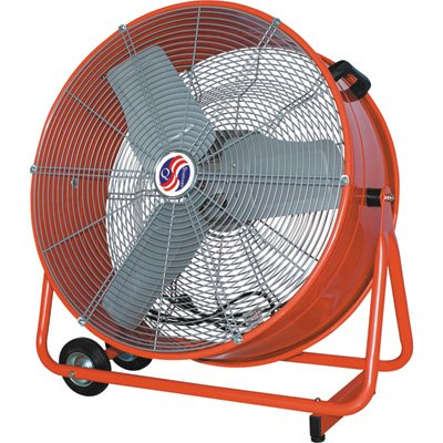 Q Standard Commercial Cooler Fan - 24in., 7700