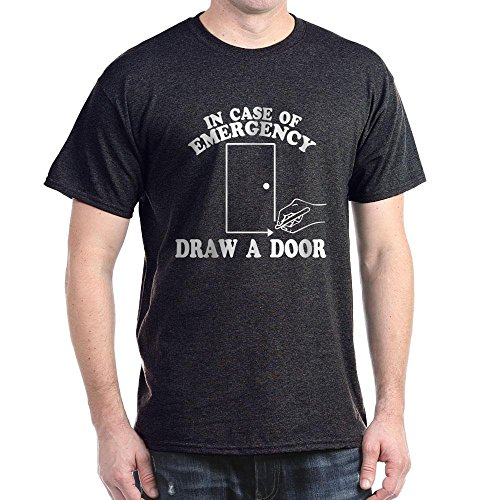 CafePress - Draw A Door Beetlejuice - Dark T-Shirt - Many Colors - S to XXXL