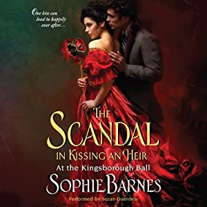 The Scandal in Kissing an Heir Audiobook