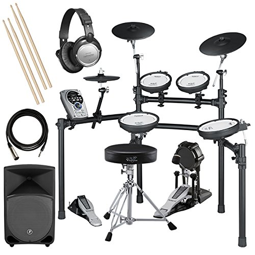 Roland Td-15K V-Drums Complete Bundle W/ Monitor Speaker & Hardware