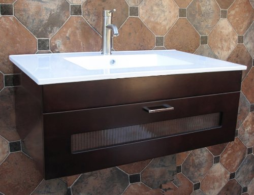 Amazon.com: Wall Mount - Vanity Sink Tops / Bathroom Sinks ...