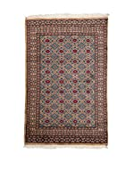 Navaei & Co. Alfombra Kashmir Marrón/Multicolor 152 x 94 cm