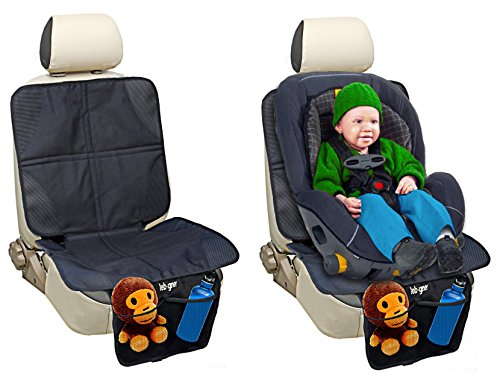 Car Seat Protector By Lebogner – Luxury Mat Cover Protector To Keep Nice And Clean Under Your Baby's Infant Car Booster Seat, Protects Your Auto Leather And Upholstery Seats From Damage.