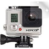 dipos GoPro Hero 3+ Action Kamera Schutzfolie (6 Stück) - kristallklare Premium Folie Crystalclear - passend für das Go Pro Hero 3 + Gehäuse
