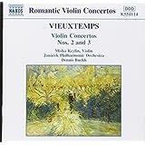 Vieuxtemps Violinkonzert 2 und 3 Burk