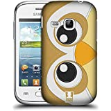 Samsung Galaxy Young S6310 , Owl : Head Case Designs Owl Animal Patches Series 1 Hard Back Case For Samsung Galaxy...