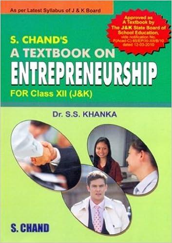 entrepreneurship class 12 cbse book